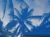 Palme im Wasser